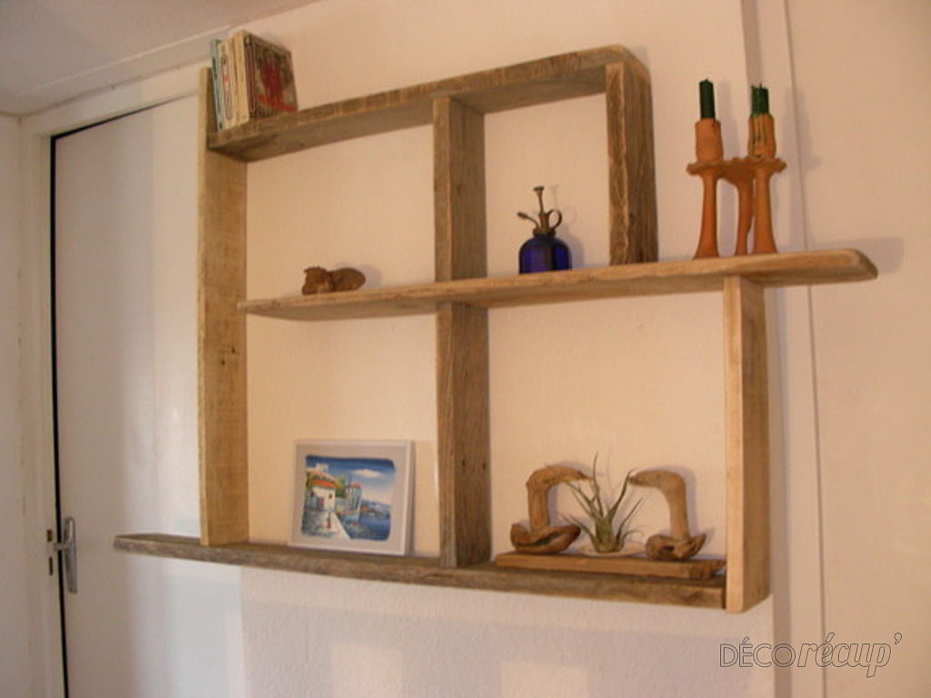 Tag re bois flott par gibus33 for Etagere bois flotte