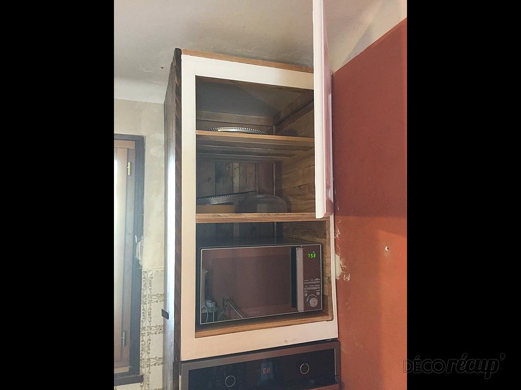 Meuble Cuisine Four Et Micro Onde meuble de cuisine (four et micro/ondes) par gp créations 83