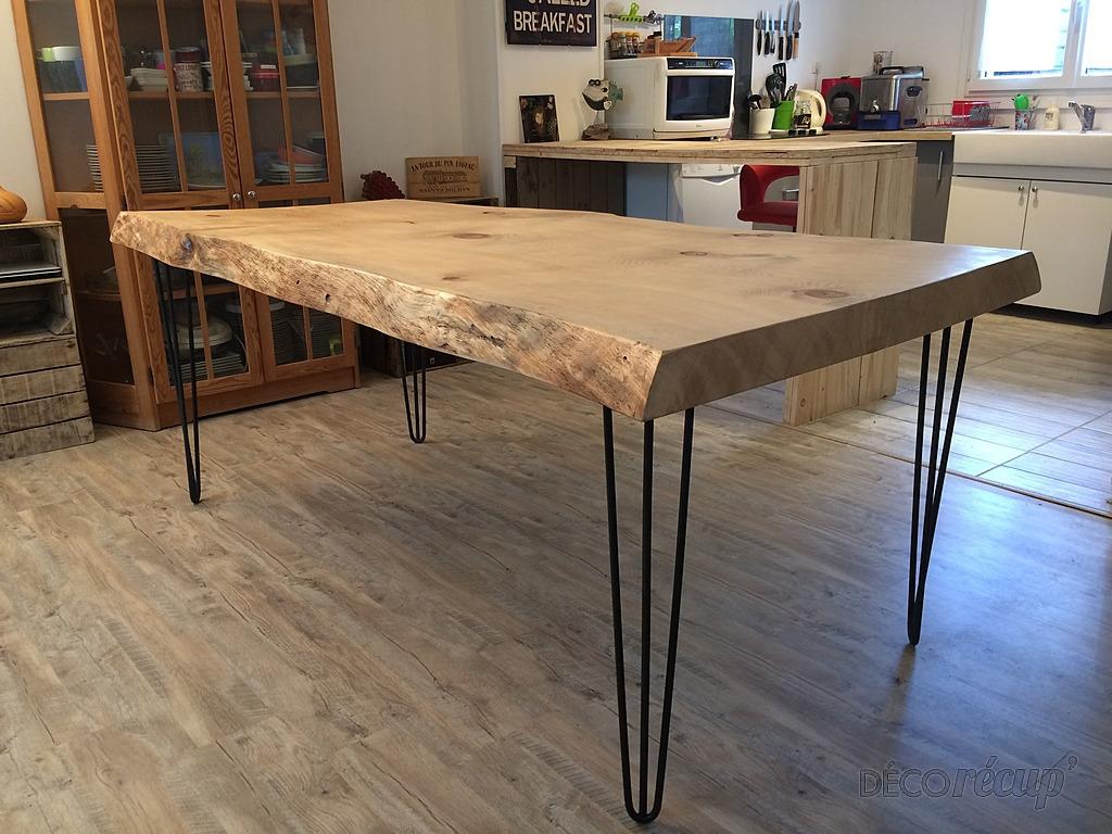 """Ripaton Pieds De Table table de salle à manger """"l'authentique"""" par idéco création"""