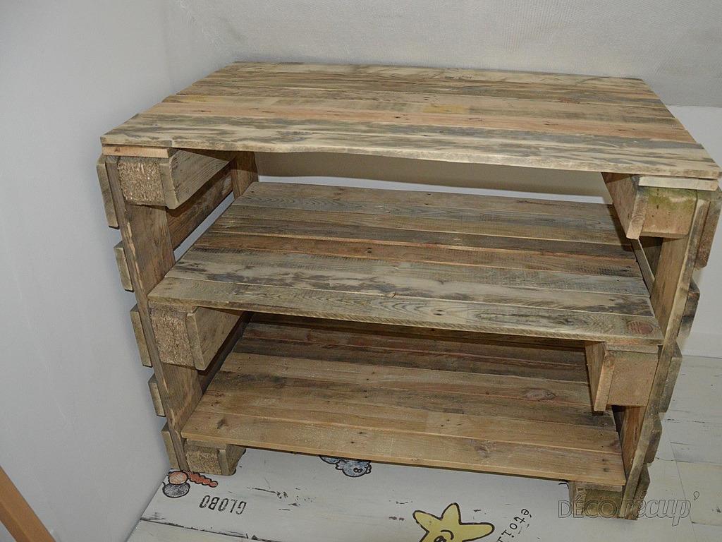 commodes en palettes par spqr57. Black Bedroom Furniture Sets. Home Design Ideas