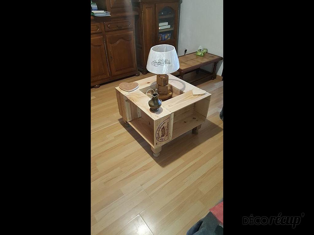 Basse Par Palcreassion Caisse Table Vins fY7b6gvmIy