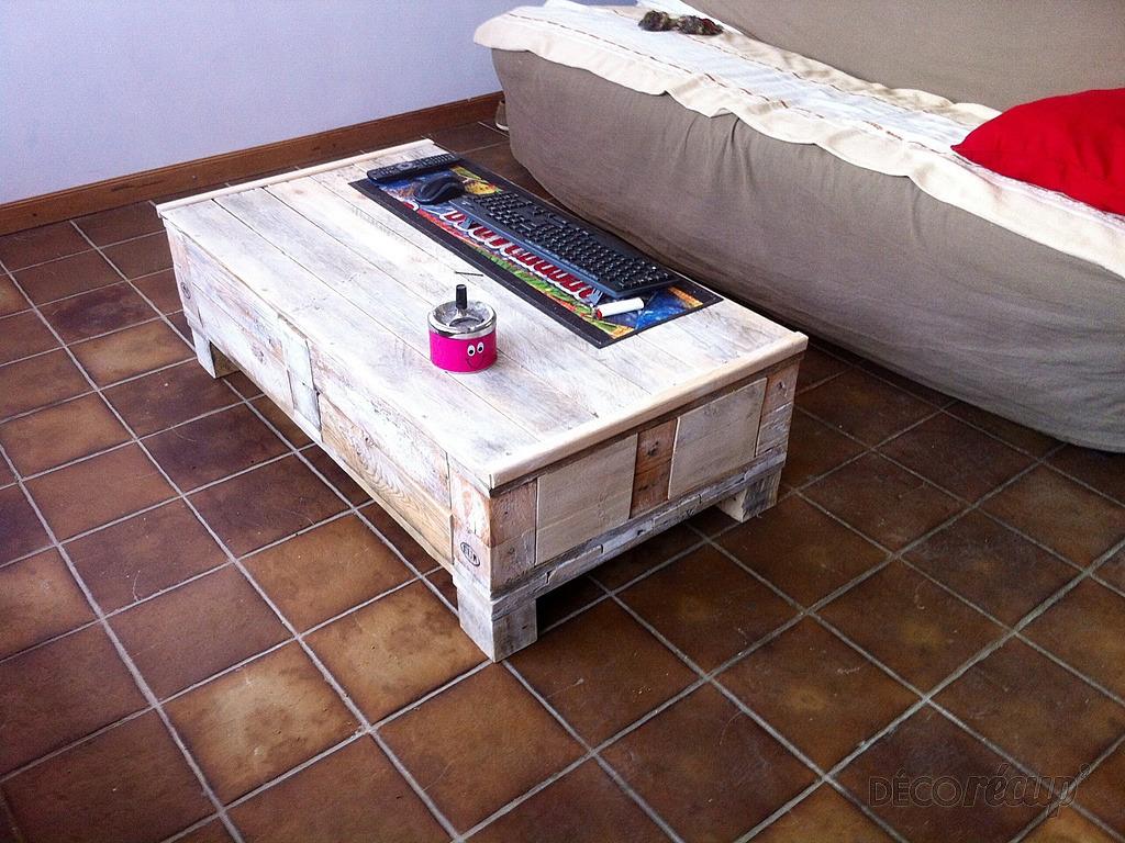 Table Basse R Cup Par Jo La Palette # Table Basse Recup