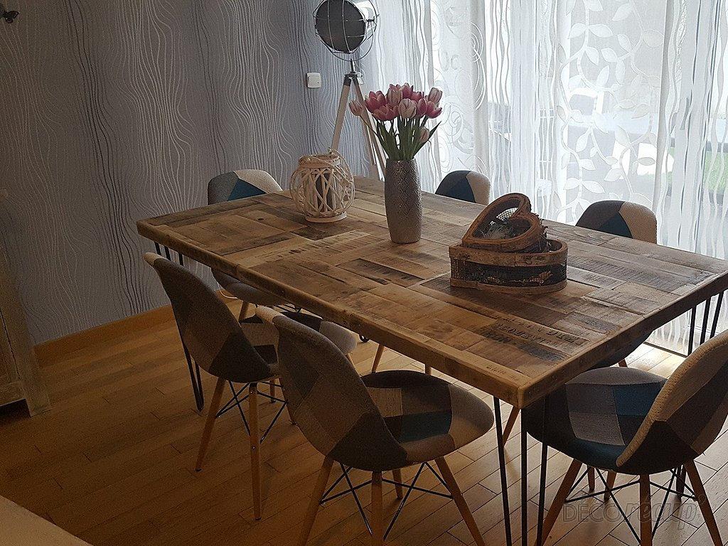 Ripaton Pieds De Table table salle à manger récup et pieds ripaton par jean perea