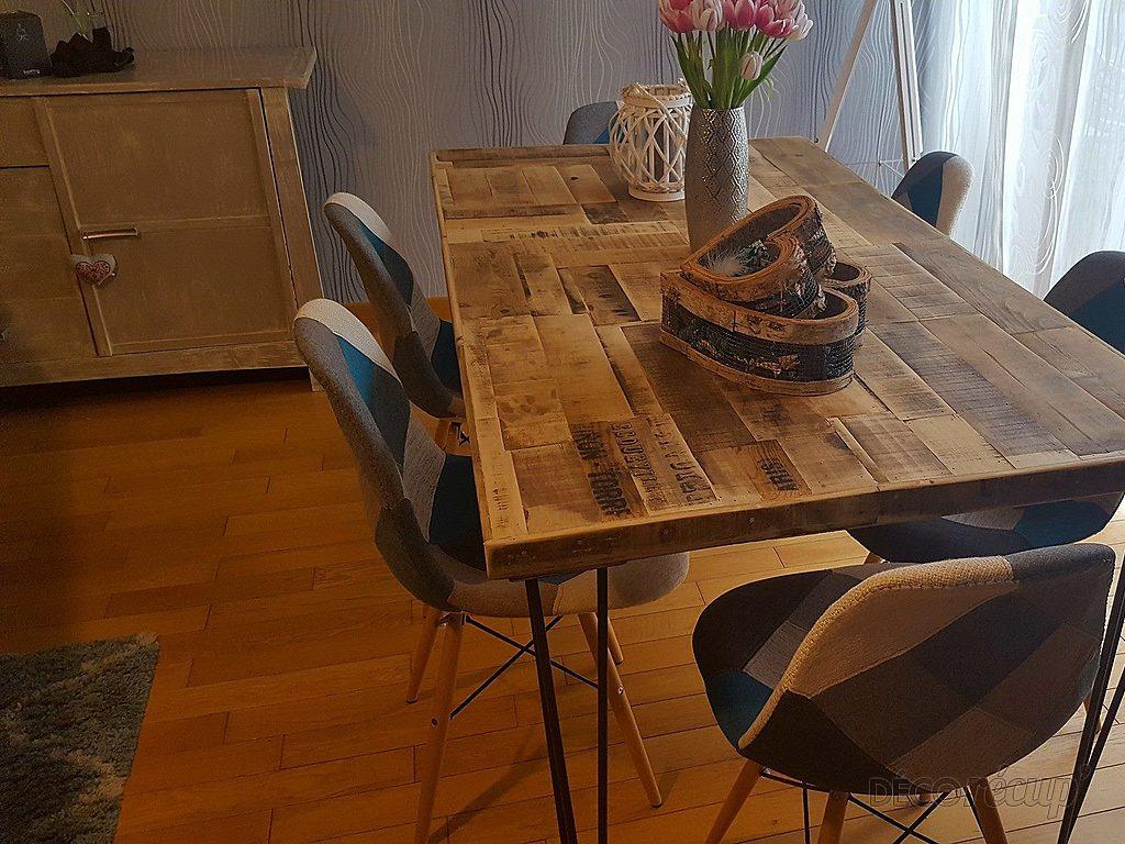 Table salle manger r cup et pieds ripaton par jean perea for Table salle a manger jean nouvel