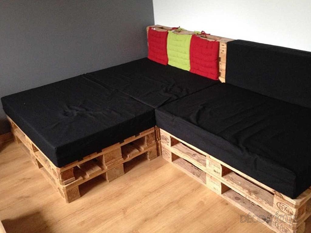 2 housses de canap palette usage ext rieur par une housse. Black Bedroom Furniture Sets. Home Design Ideas