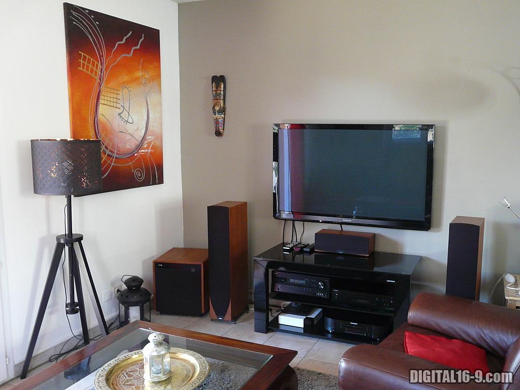 mon salon home cinema par lionel12. Black Bedroom Furniture Sets. Home Design Ideas